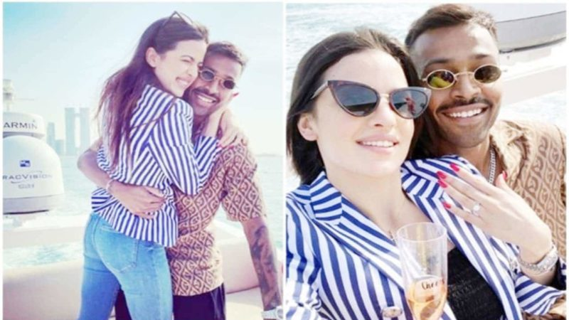 Hardik Pandya Got Engaged To Natasa Stankovic On The New Year Eve