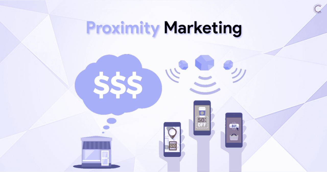 What is a proximity marketing and what is it for?