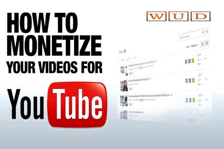 Monetizing YouTube Videos? Here's how you get started
